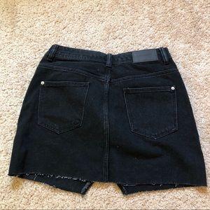 Zara Skirts - Black zara denim skirt